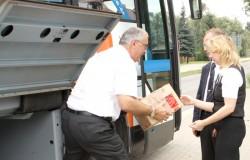 Der Busfahrer als Dienstleister: Der KombiBUS soll zur Daseinsvorsorge in ländlichen Regionen beitragen