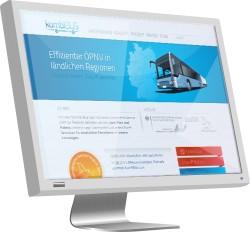 Für den KombiBus gibt es nun einen eigenen Webauftritt (Abbildung: raumkom)