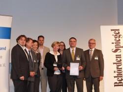Verleihung des Innovationspreis Public Private Partnership in Berlin (Foto: raumkom)