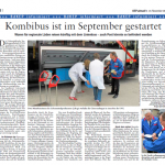KombiBUS-Beitrag in KEP aktuell